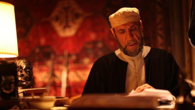 F Murray Abraham sul set del film Il Mistero di Dante - Foto di Daniele Savoca (1)