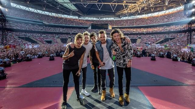 1D Tour 2014 Wembley bassa