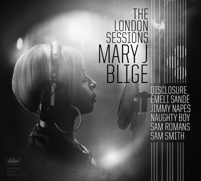 Mary J Blige_cover album_The London Sessions_m