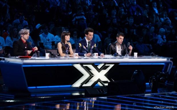 X Factor - I giudici @ Xfactor Official Facebook