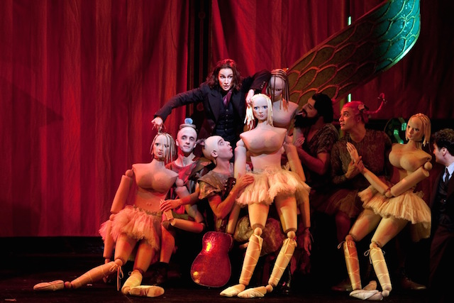 A scene from Act I with Kate Lindsey as Nicklausse in Offenbach