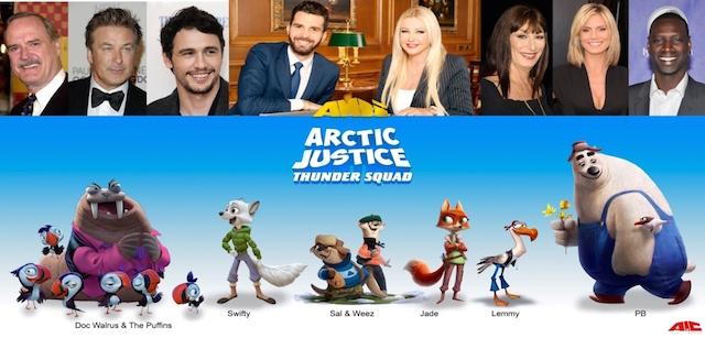 Arctic Justice - Thunder Squad