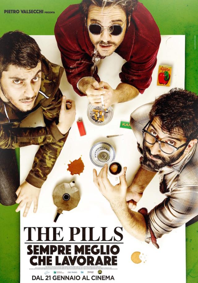 ThePills_SempreMeglioCheLavorare_poster_corretto